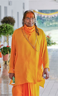 Shree Kripalu Ji Maharaj at Barsana Dham